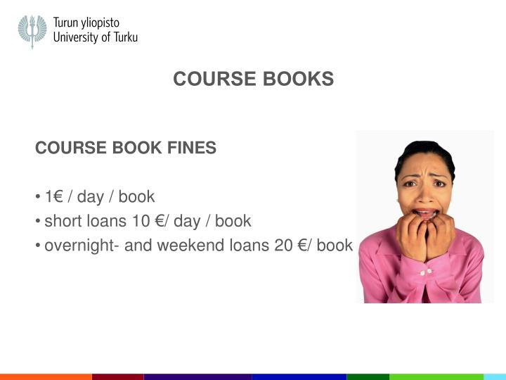 COURSE BOOKs
