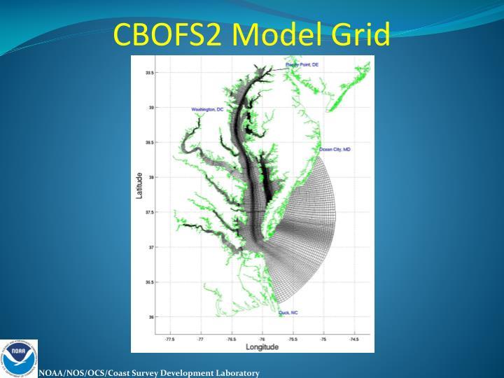 CBOFS2 Model Grid