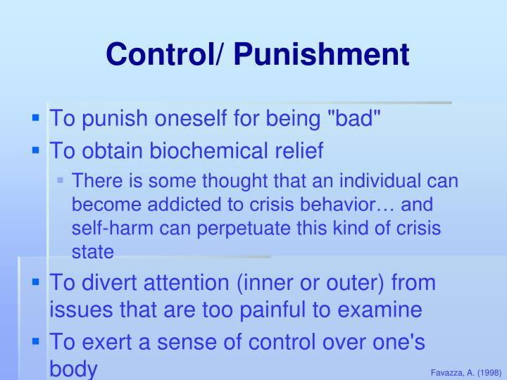 Control/ Punishment
