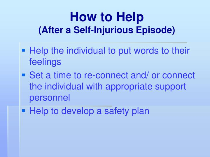 How to Help