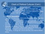 clash of political cultures cont1