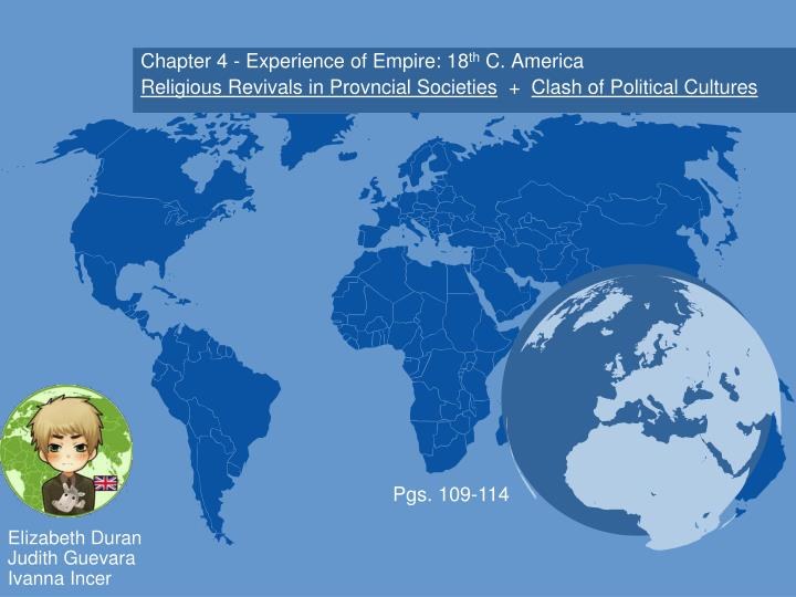 Chapter 4 - Experience of Empire: 18