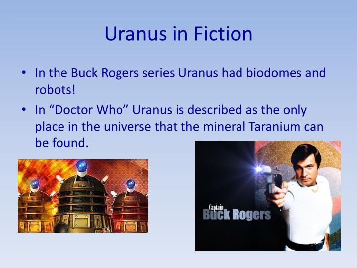 Uranus in Fiction