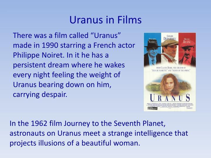 Uranus in Films