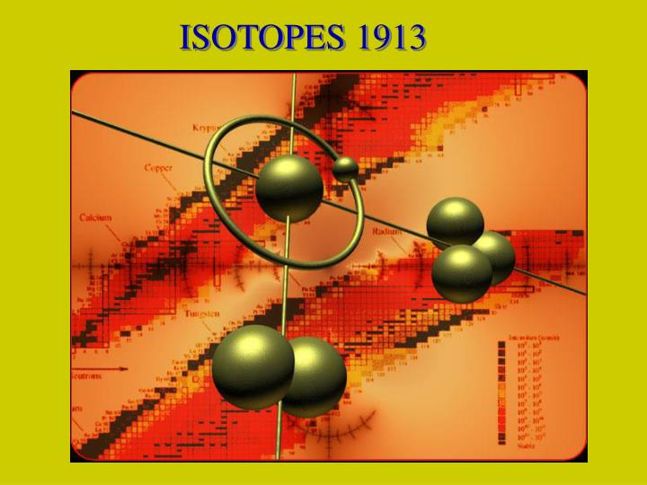 ISOTOPES 1913