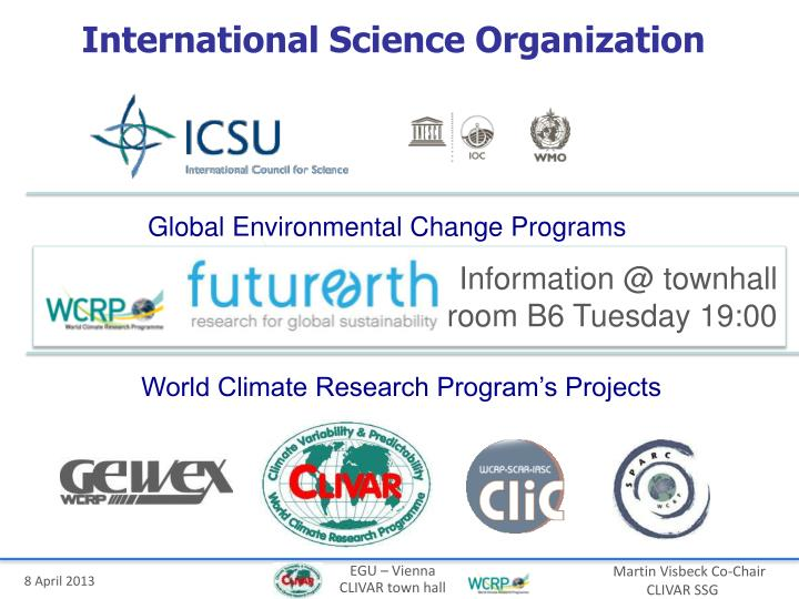 International Science Organization