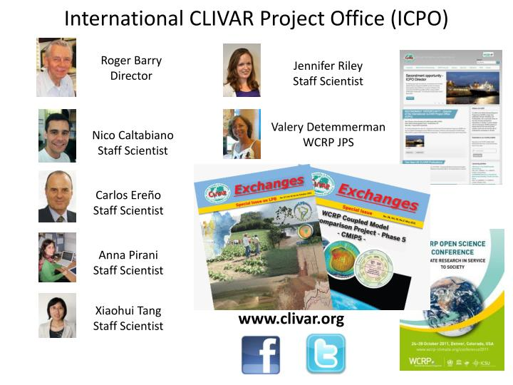 International CLIVAR Project Office (ICPO)