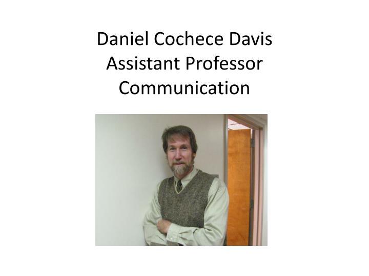Daniel Cochece Davis