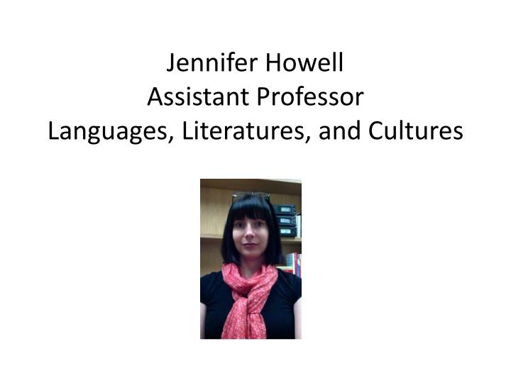 Jennifer Howell