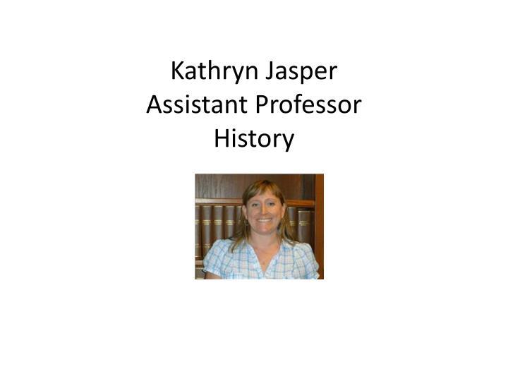 Kathryn Jasper