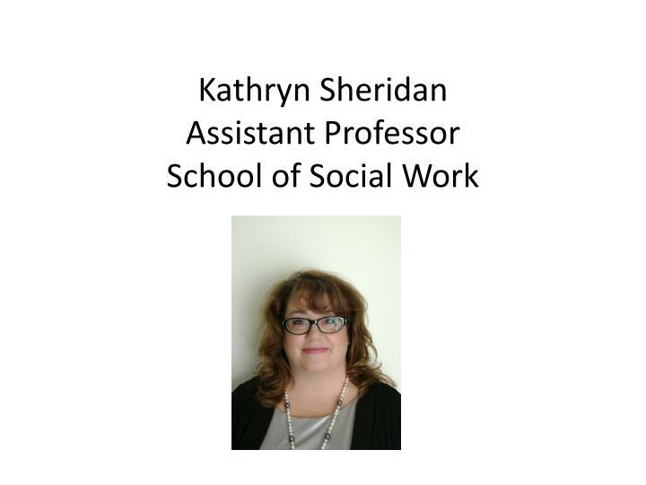 Kathryn Sheridan