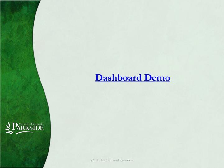 Dashboard Demo
