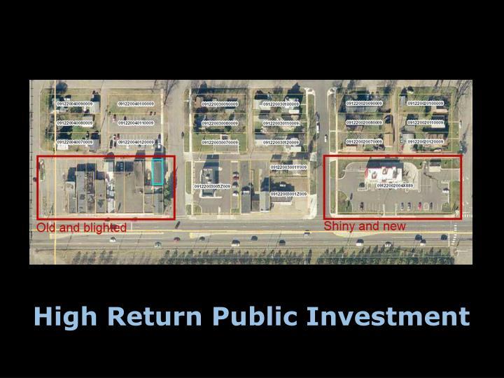 High Return Public Investment