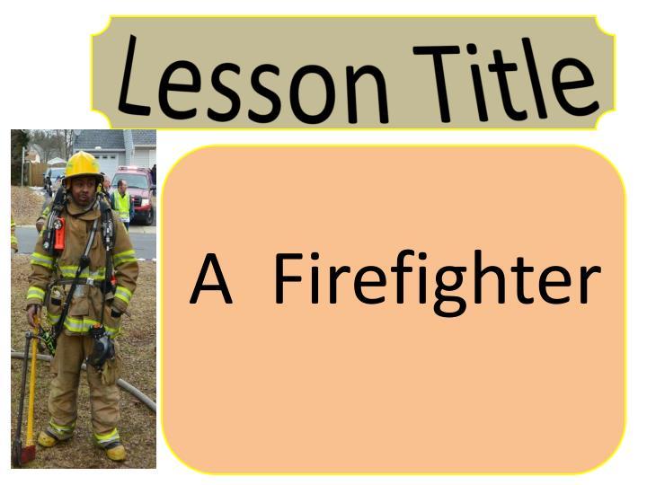 Lesson Title