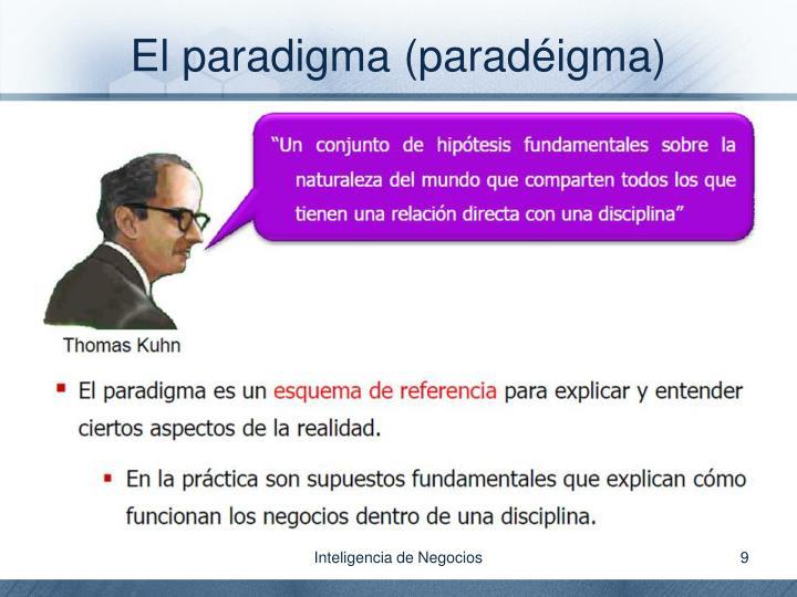 El paradigma (