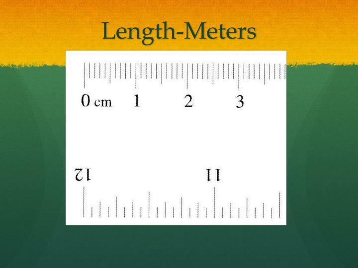 Length-Meters