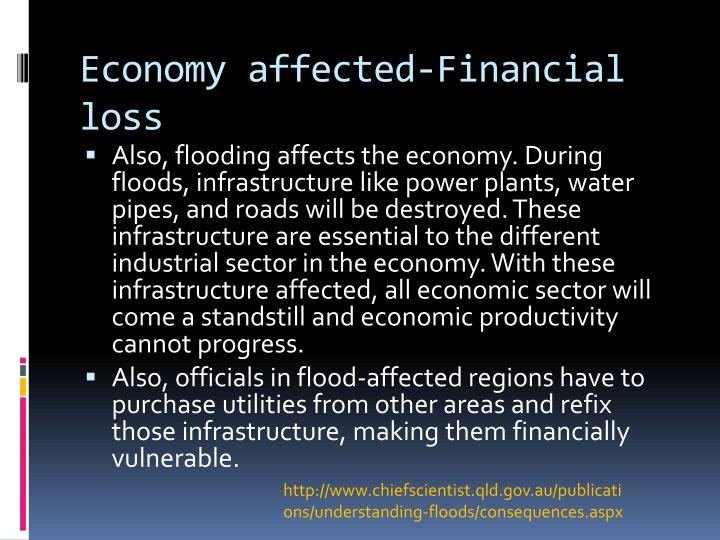 Economy affected-Financial