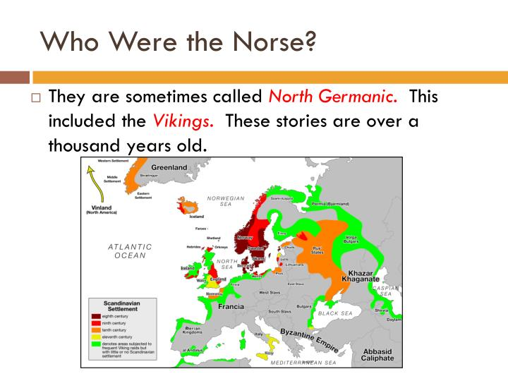 Who were the norse
