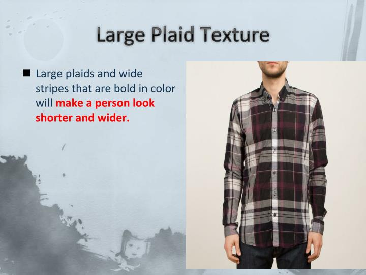 Large Plaid Texture