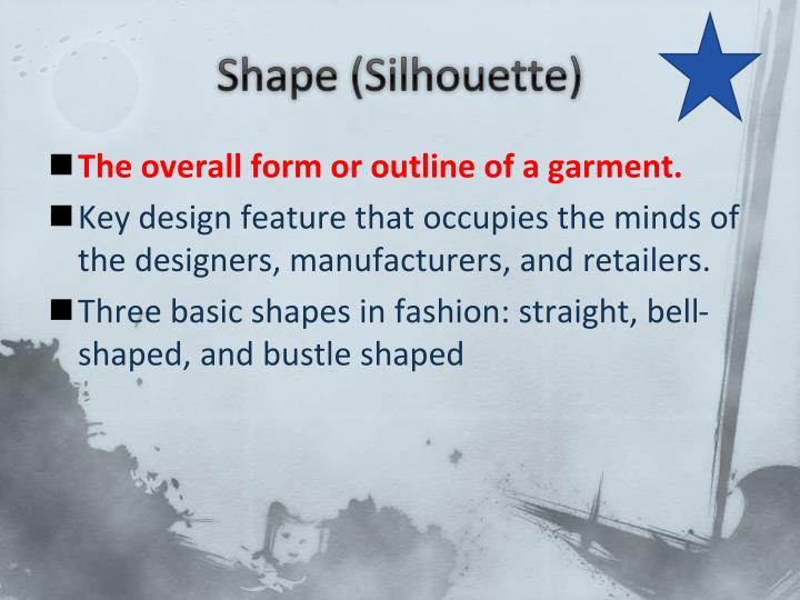 Shape (Silhouette)