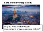 is the world overpopulated4