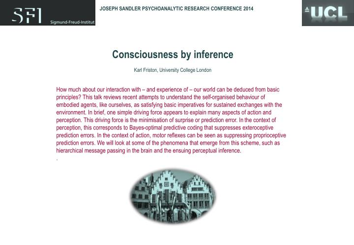 JOSEPH SANDLER PSYCHOANALYTIC RESEARCH CONFERENCE 2014