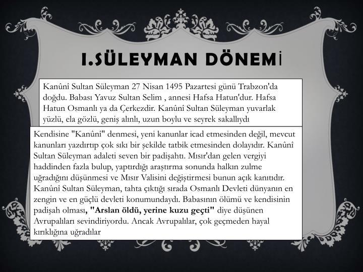 I.SLEYMAN DNEM