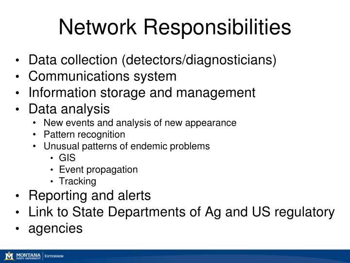 Network Responsibilities