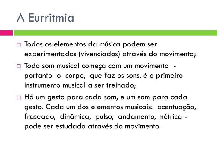 A Eurritmia