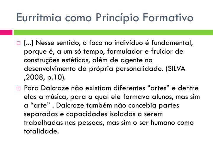 Eurritmia como Princípio Formativo