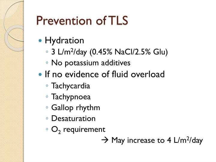 Prevention of TLS