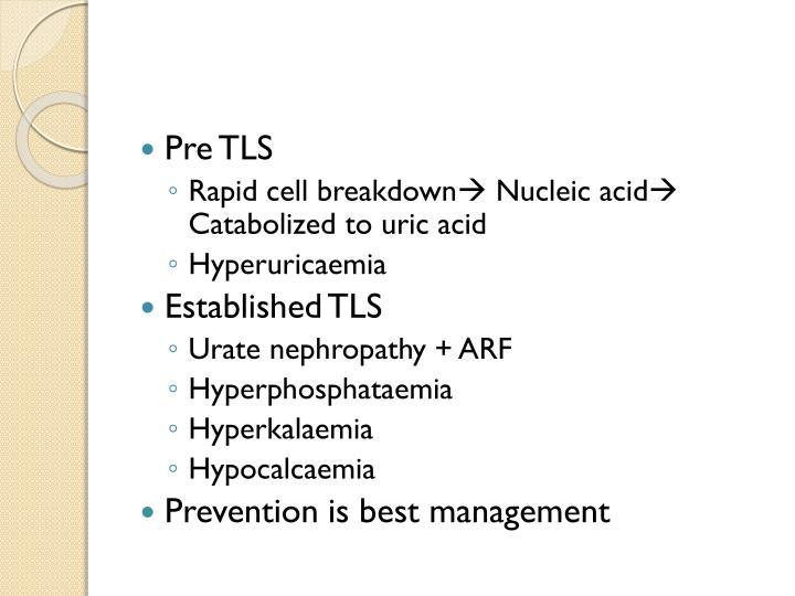 Pre TLS