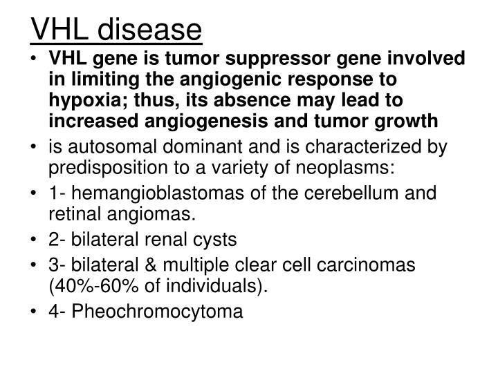 VHL disease