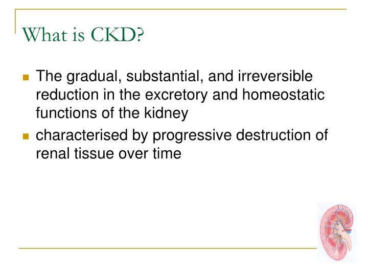 What is CKD?