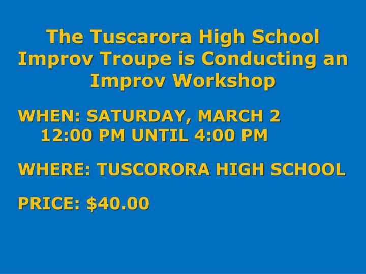 The Tuscarora High School