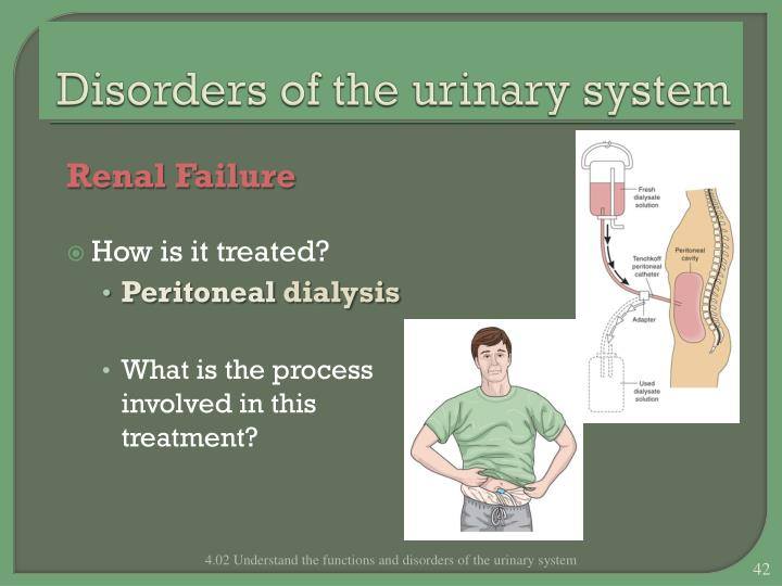 Disorders of the urinary