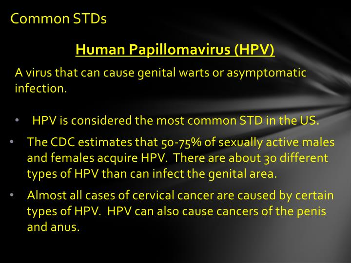 Common STDs