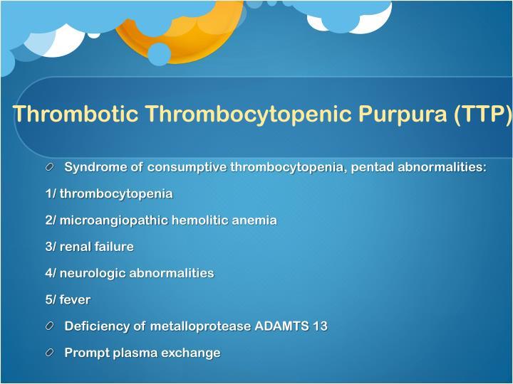 Thrombotic