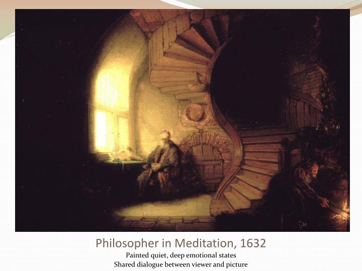 Philosopher in meditation 1632