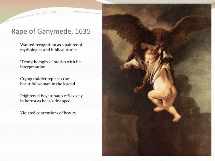 Rape of Ganymede, 1635