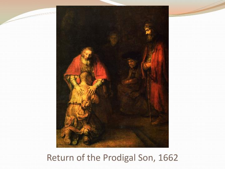Return of the Prodigal Son, 1662
