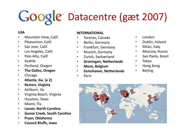 Datacentre (gæt 2007)