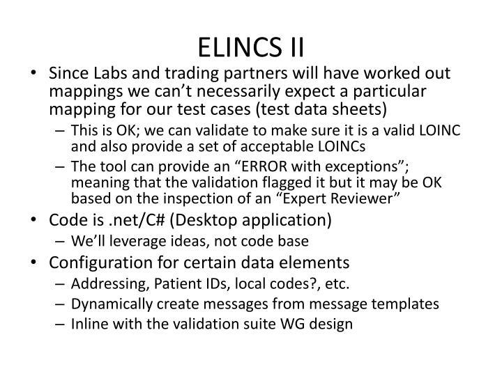 ELINCS II