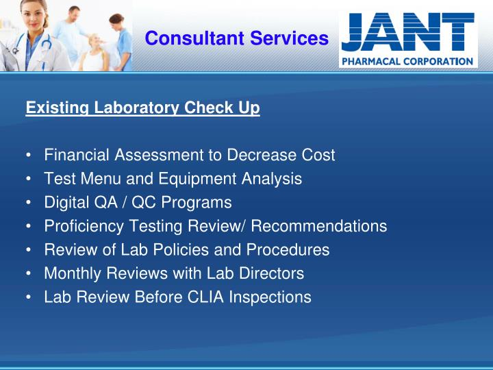 Consultant Services