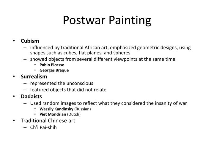 Postwar Painting