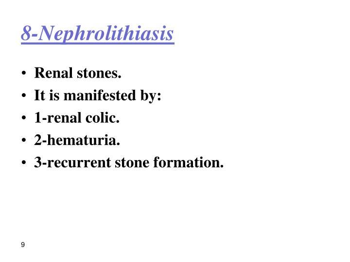 8-Nephrolithiasis