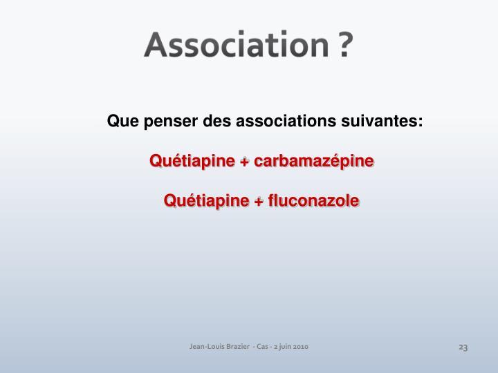 Association ?