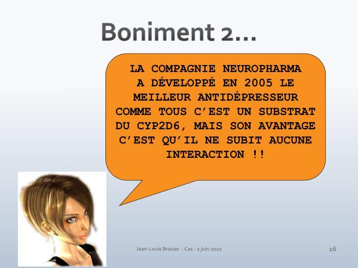 Boniment 2…
