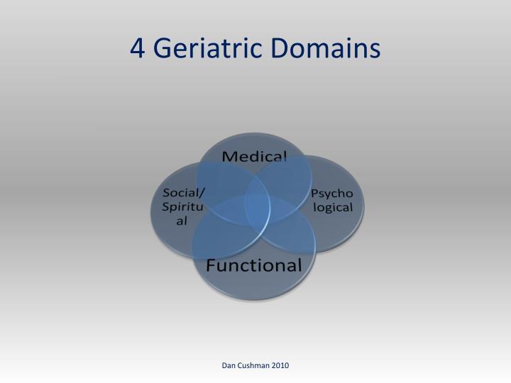 4 Geriatric Domains