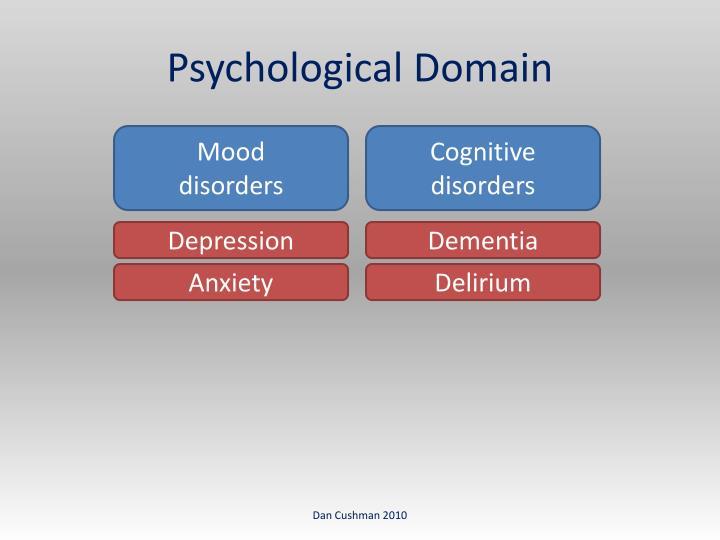 Psychological Domain